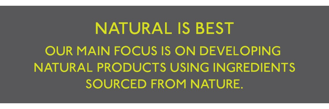 NATURAL IS BEST